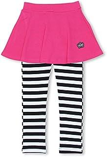 BABYDOLL(ベビードール) スカッツ スカート付 ウルトラストレッチパンツ 子供服 ベビー 140 7ボーダー/ラズベリー