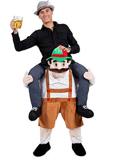 Black Beauty Ride On Me Mascot Beer Man Beer Festival Fancy Garden Gnome