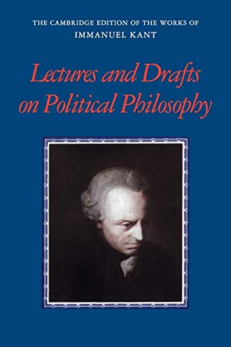 Kant: Lectures and Drafts on Politi…