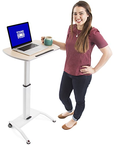Stand Steady Multifunctional Podium   Lectern   Laptop Stand   Mobile Workstation! Excellent use for classrooms, Offices, and Home!