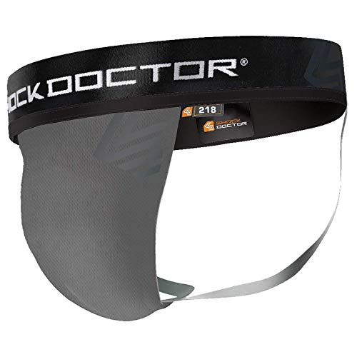 Shock Doctor (ShockDoctor) Foul Cup Supporter 218 Core Supporter CP Protective Dedicated Supporter Baseball Martial Arts XS DG