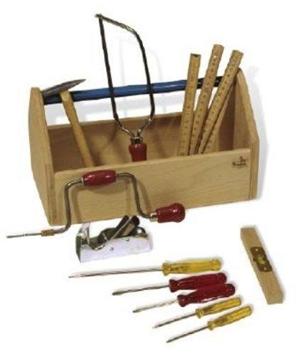 Pinolino 222318 - Werkzeugkiste ohne Werkzeug
