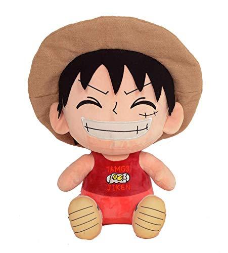 Sakami Merchandise 65ONE012-2 One Piece - Figure Ruffy - Plüsch Toy