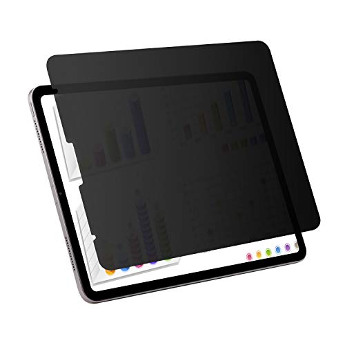 YBP for New iPad Pro 12.9 inch Privacy Screen Protector ,Compatible with Apple Pencil and Face ID, Anti Scratch Anti Glare PET Film,Landscape Anti-Spy Filter use for Apple iPad Pro 12.9 2018 Release