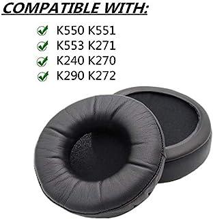 Grueso almohadillas almohadillas cojín para AKG K Serie Studio HD MKII K550 K551 K553 K271 K240 K270 K290 K241 K272