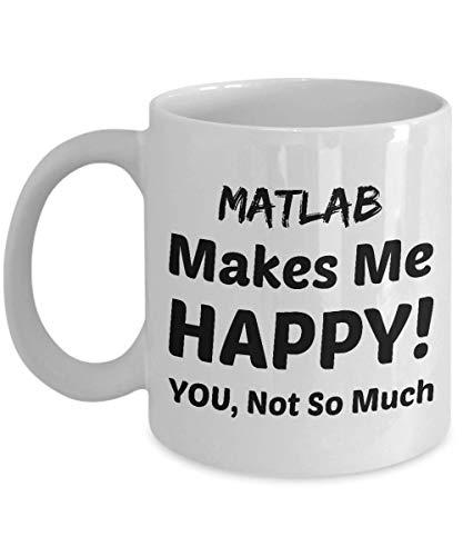 Taza de café matlab - matlab me hace feliz - no tanto