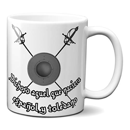 Taza Toledo Frase Cervantes