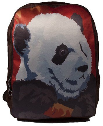 Panda Backpack, Panda Book Bag - Support Wildlife Conservation - Read How
