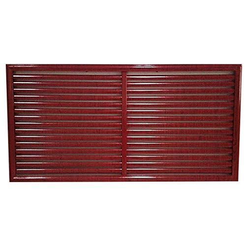 Grille Air Fences- Louvred Wall Vent, Aluminum Alloy Durable Air Ventilation Cover, Home Decor Iron Wrought Iron Dust Vents For Home, Air Conditioner, Machine Room, Office