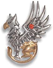 Starlinks COM11 Griffins Gift Pendant - Good Fortune By Anne Stokes