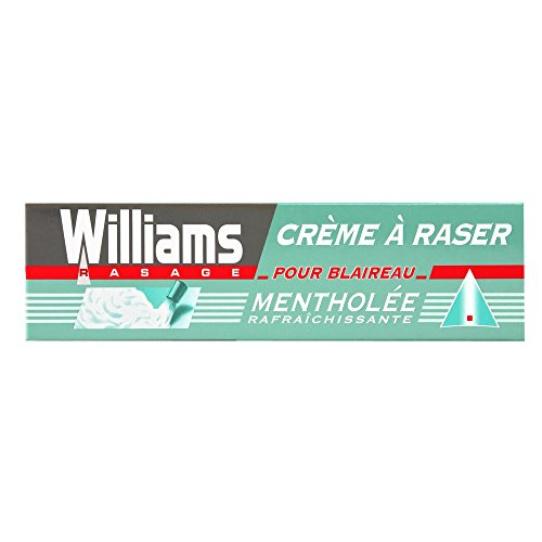 Williams Ice Fresh Menthol Shaving Crema - 3 Paquetes de 100