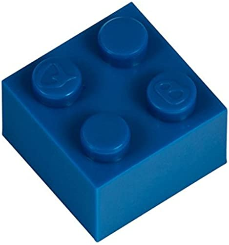 Q-Bricks 2 2-Stud Bausteine lose Pack (1000, blau)