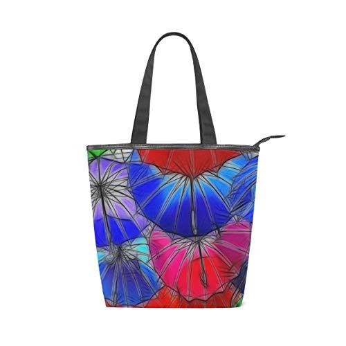Sacs à main de berger sacs à bandoulière sac à main shopping sac fourre-tout sangle légère poids parapluie Art coloré belle pour les femmes filles dames étudiant