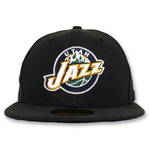 NEW ERA Utah Jazz Season Basic – Gorra de la NBA, negro: Amazon.es ...
