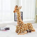 RAILONCH Peluches Jouets Girafe,Géant Girafe en Peluche, Jouets Cadeaux d'anniversaire Cadeaux de Saint Valentin Jouets pour Enfants (60cm)