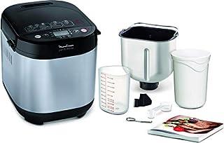 comprar comparacion Moulinex Pain & Délices OW240E30 - Panificadora 1 kg, función yogur, pan sin gluten, pan casero, 20 programas automáticos,...