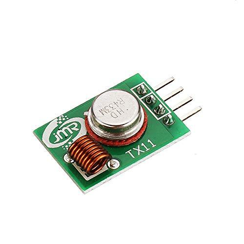 ZJF Componentes de la computadora Accesorios eléctrico 30pcs 31 5MHZ Pregunta Módulo de transmisión inalámbrica TX11 Junta de Circuito de emisión Infinita del módulo de Alta Potencia