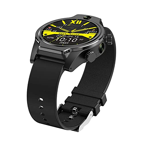 XYJ Rollme S08 1.69″ IPS Round Touch Screen 3+32G Smart Watch, 8MP+8MP Dual Camera 1360Mah+2200Mah Charging Compartment IP68 Voice Search