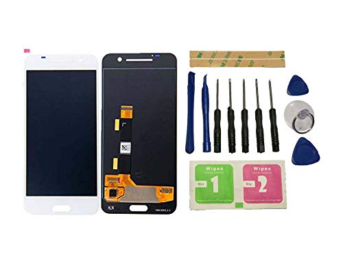 Flügel para HTC One A9 Pantalla LCD Pantalla Blanco Táctil digitalizador Asamblea Pantalla (sin Marco) de Recambio & Herramientas