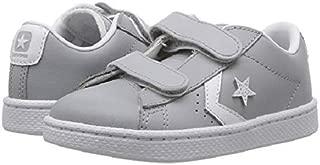 Converse Infant PL 76 2V Ox Wolf Grey/White/White Skateboarding Shoe 758199C