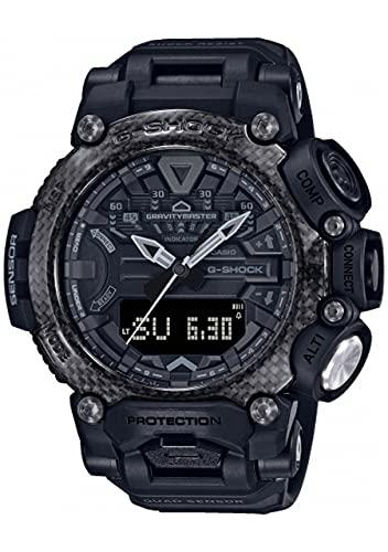 Casio G-Shock Gravitymaster GR-B200-1BER - Reloj con Carcasa de Resina Reforzada con Carbono Resistente a Las Condiciones más extremas.