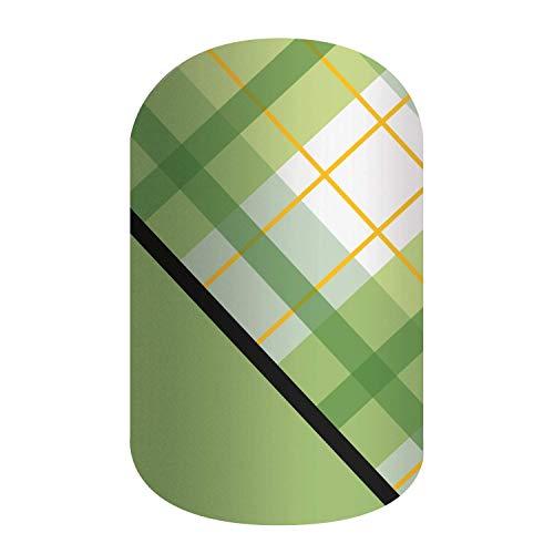 IRISH-ISH - ST PATRICK, EASTER & SPRING DESIGNS - Jamberry Nail Wraps - Fun & Trendy Nail Art Stickers (Half Sheet - 1 manicure / 1 pedicure, Irish-ish)
