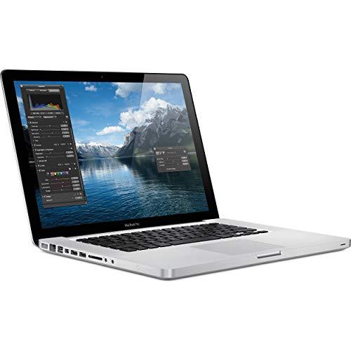 Apple MC372LL/A MacBook Pro 15-inch Laptop (OLD VERSION) (Renewed)