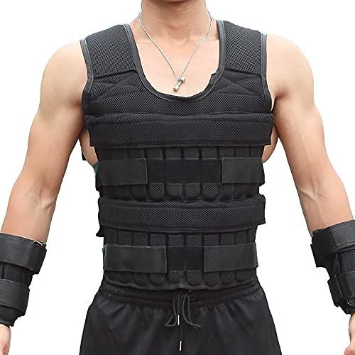 XXGG Chaleco ultra delgado invisible transpirable fitness con soporte de peso ajustable Chaleco de placa de acero Shayi hierro arena plomo Sandbag chaleco