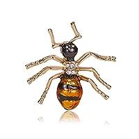かわいいツリアブ昆虫ブローチキッズガールズ服アクセサリーエナメルブローチバースデーギフトジュエリー