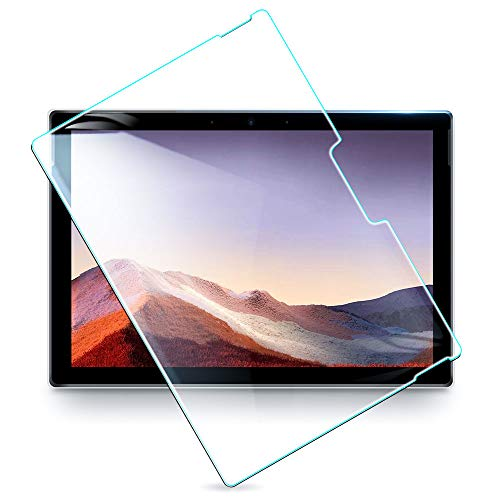 ESR Tempered Glass Screen Protector for Surface Pro 7/ Pro 6 /Surface Pro (5th Gen) /Surface Pro 4 (12.3inch), Premium HD Clear 9H Hard, [Surface Pen Compatible] [High Sensitivity] [Scratch Resistant]