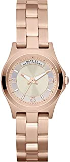 Marc by Marc Jacobs Women's Silver Dial Stainless Steel Band Watch - MBM3235