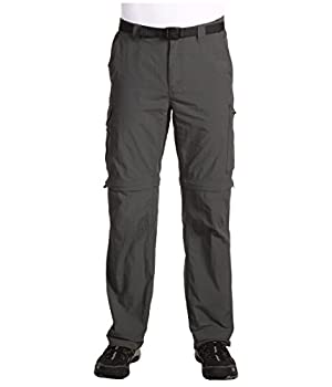Columbia Men s Silver Ridge Convertible Pant Breathable UPF 50 Sun Protection Grill 34x32