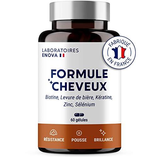 FORMULE CHEVEUX   Biotine, Kératine, Zinc, Selenium,...