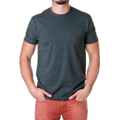 Camiseta masculina Next Level, Charcoal, 3X-Large
