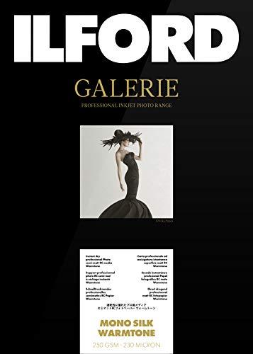 Ilford Galerie Prestige Mono Silk Warmtone 250g, 13x18cm, 100 Hojas - Papel fotográfico Inkjet