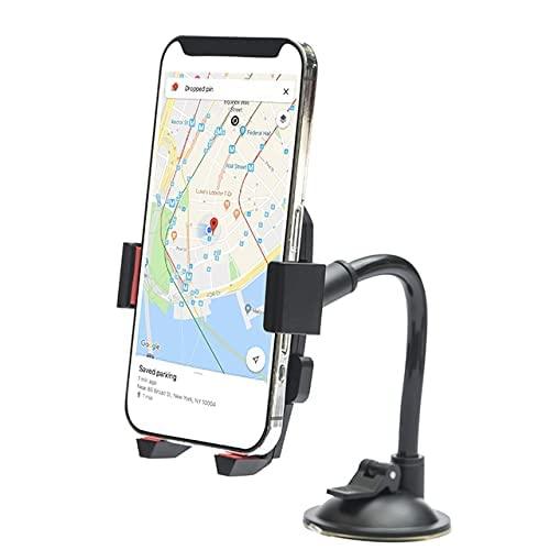 Porta smartphone da auto universale supporto cellulare per auto supporto per presa d'aria supporto per cruscotto 360 angolo di rotazione compatibile con smartphones/ipad Mini/GPS/PDA/MP4
