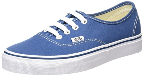 Vans AUTHENTIC Unisex-Erwachsene Sneakers, Unisex-Erwachsene Sneakers, Blau (Navy), EU 38.5 (5.5 UK)