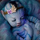 ZYR Realistic Reborn Baby Dolls That Look Real,Solid Full Silicone Body Baby Dolls,Not Vinyl Material Dolls,Handmadelifelike Newborn Baby Dolls girl22 inch,EyesClosed