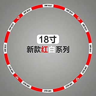 Atlanta-Shop - Motorcycle Tire Wheel Stickers 10 12 18 Inch for Honda Ktm Yamaha Suzuki Benelli Aprilla Bmw Harely Motorbike Bike