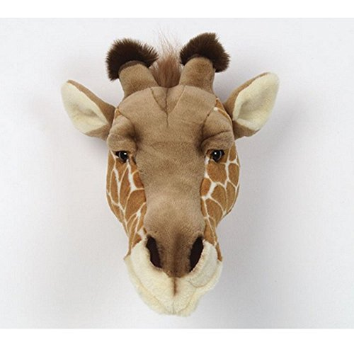 Bibib BB36 - Cabeza de jirafa de peluche