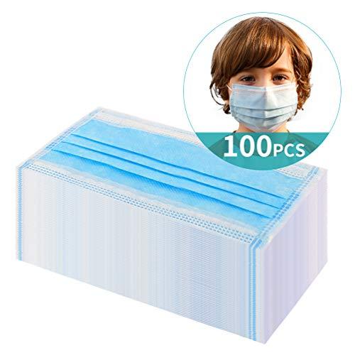 ikeepi Kinder Einweg 3 Lagig 100 Stück Kind Schutzfilter Abdeckung (100 Stück)