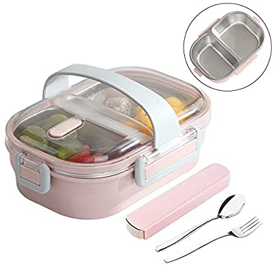 Arderlive Stainless Steel Lunch Box With portab...