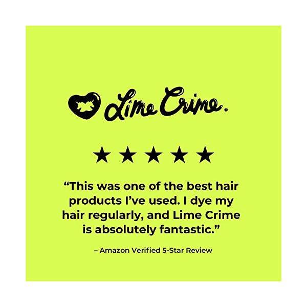 Lime Crime Unicorn Hair Dye, Dirty Mermaid - Seafoam Green Fantasy Hair Color - Full Coverage, Ultra-Conditioning, Semi-Permanent, Damage-Free Formula - Vegan - 6.76 fl oz 4