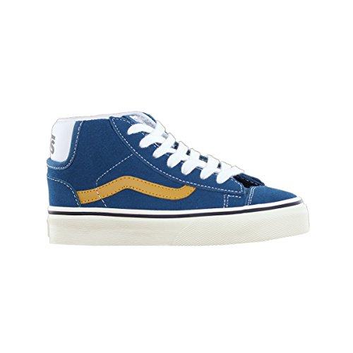 Vans Classic Mid Skool 77 Blue Kids Trainers