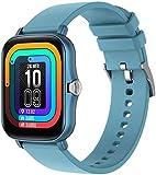 1.69 pulgadas pantalla táctil reloj inteligente hombres mujeres moda reloj smartwatch pulsera inteligente fitness deportes seguimiento sueño para Android IOS