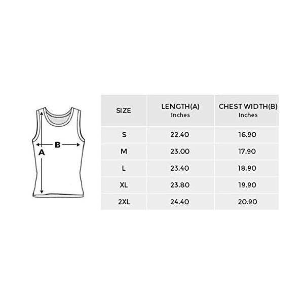 INTERESTPRINT Fashion Tank Tops for Women T-Shirt Workout 7