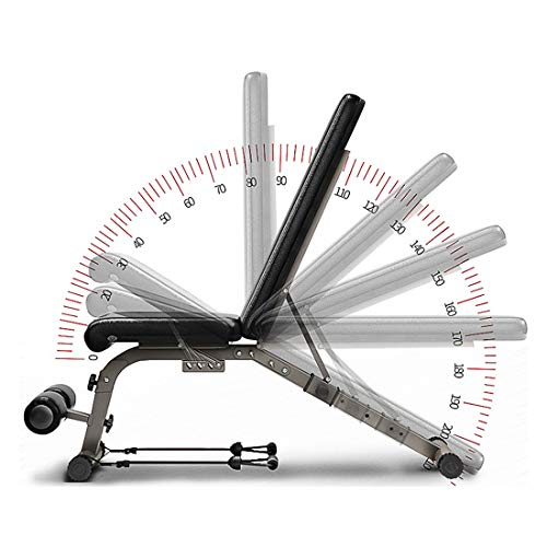 Adjustable Weight Bench Full Body Workout Foldable Incline Decline Exercise Workout Bench Home Gym