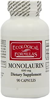 Cardiovascular research / Ecological Formulas - Monolaurin 600mg - 90 Capsules by Ecological Formulas