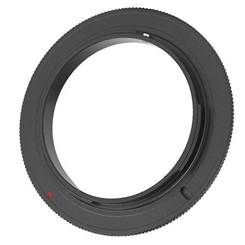 Mugast Makro-Reverse-Adapterring, 52 mm, 55 mm, 58 mm Metallobjektiv Nahaufnahme-Umkehrring für Olympus OM Mount SLR-Kamera(58MM)