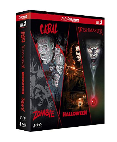 CULT'HORROR VOL 3 - COFFRET 4 BLU-RAY